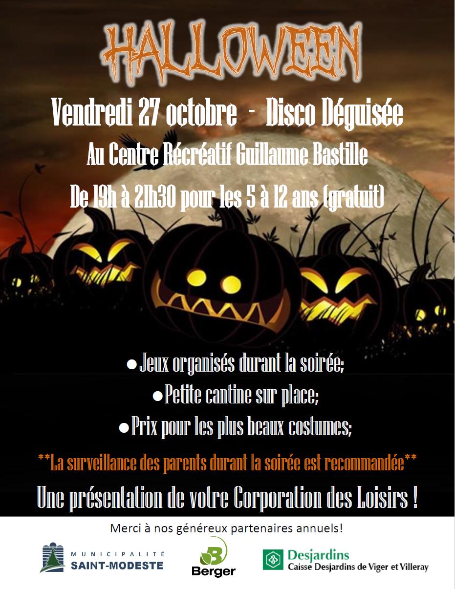 Halloween 2017 (Auteur : Vincent Laflamme)