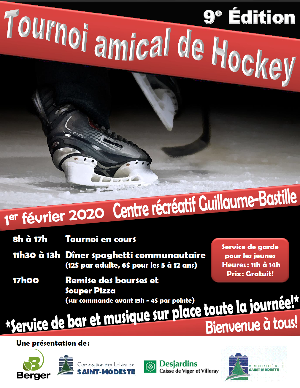 Affiche_tournoi de hockey_2020 (Auteur : Andrée-Anne Marcoux)