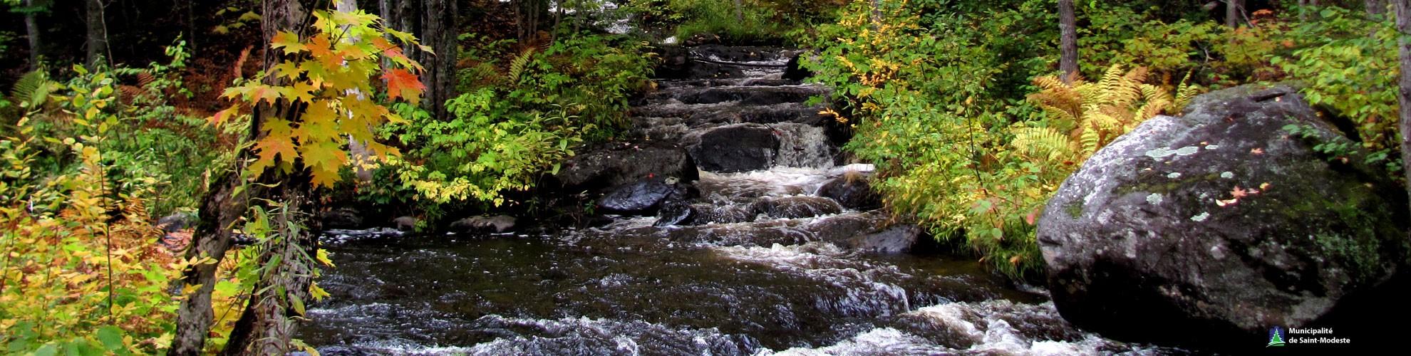 Héro - Rivière en automne